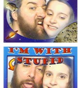 Real photo booth picture strip