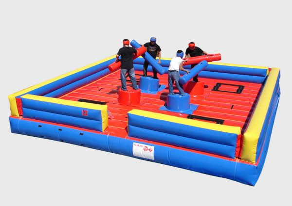 gladiator joust and tug of war