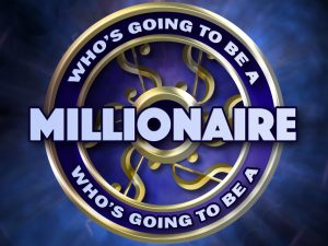 who wants to be a millionaire office party Christmas
