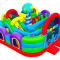 kid friendly slides and tunnels
