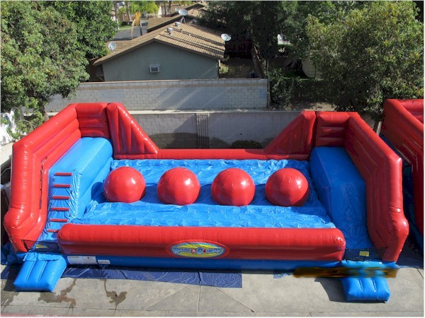 unique inflatable american ninja warrior